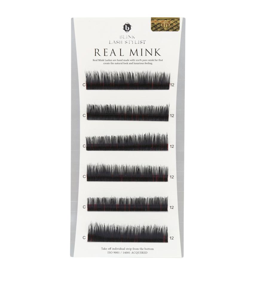 16f68f4744f Mink Lashes Mixed Length B, C, D & J Curl | Real Mink | QBS