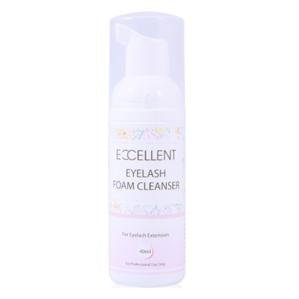 foam eyelash cleanser
