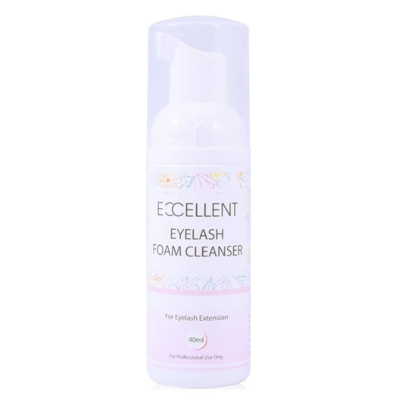 foam eyelash cleanser