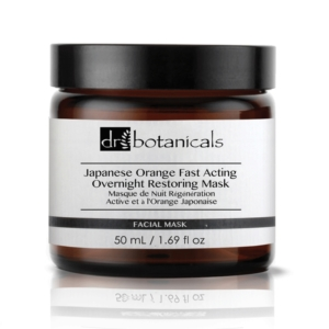 japanese orange fast acting overnight restoring mask