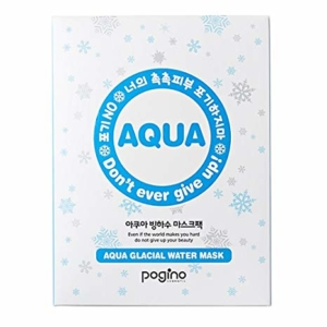 Glacial water mask sheet