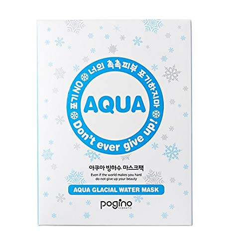 Glacial water mask sheet