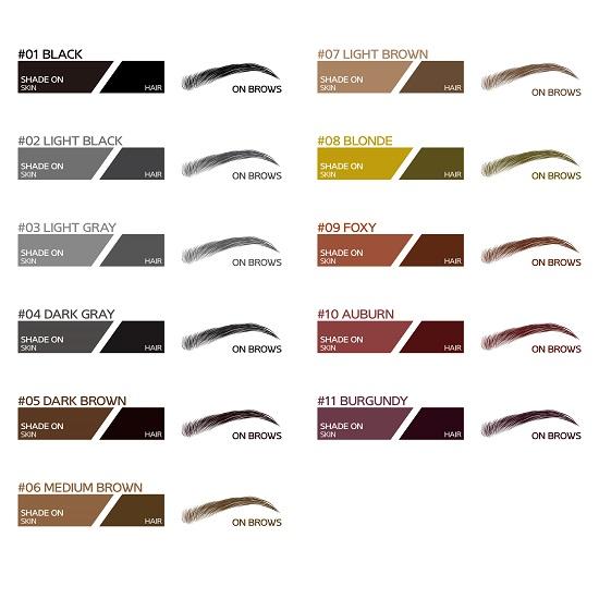 Brona Colour Chart
