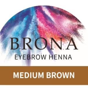 Brona Medium Brown Henna