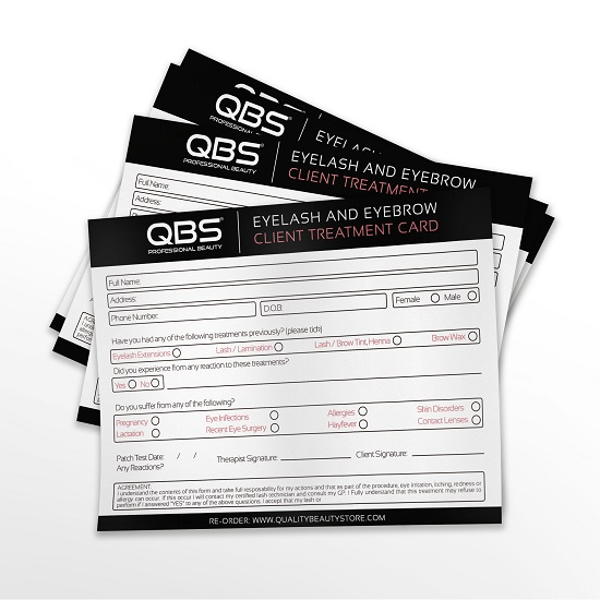 Client Treatment Cards
